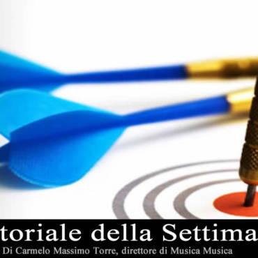 Editoriale Settimana 3